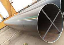 Gr X65 800mm Large Diameter Ssaw Carbon Spiral Welded Steel Pipe