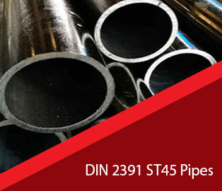 Carbon Steel DIN 2391 ST45 Pipes