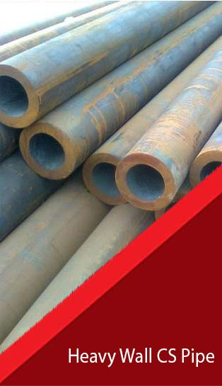 Heavy Wall Thickness CS Seamless Pipes